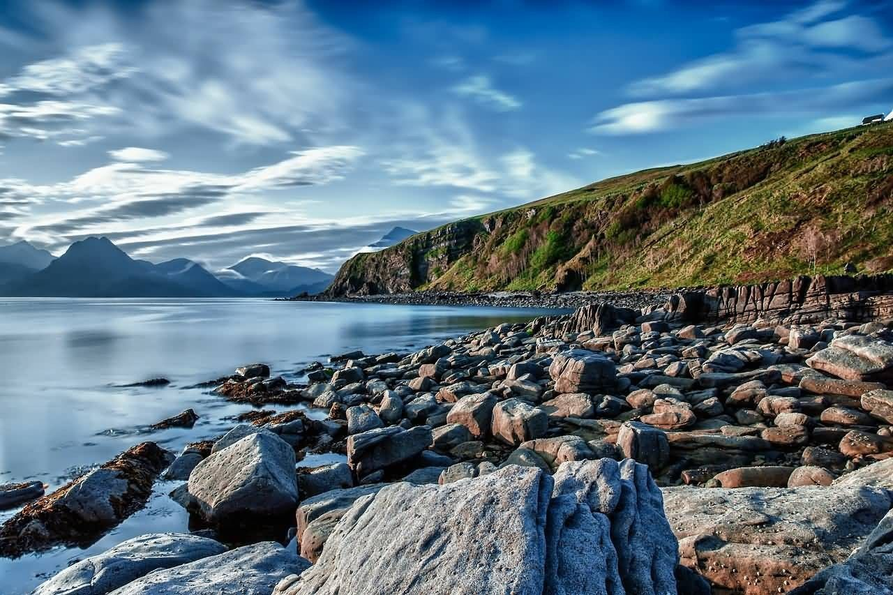 Beautiful Coast And Rocks Photo