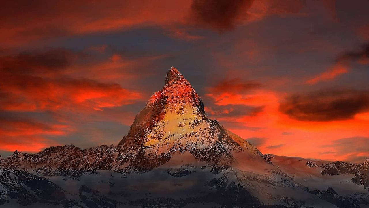 Switzerland Zermatt Mountain Photo