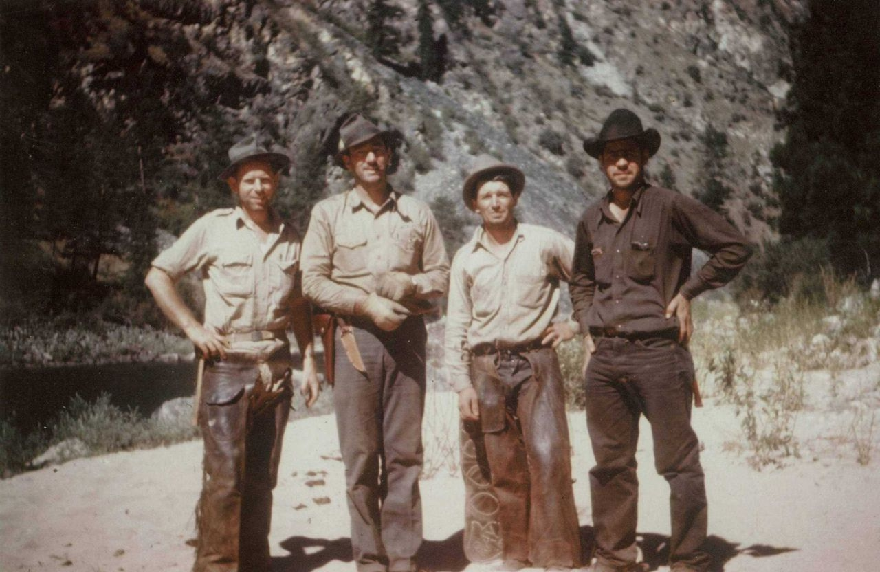 Floyd Risvold, Lew Odgers, Johnny, and James Beck, Jr Photo