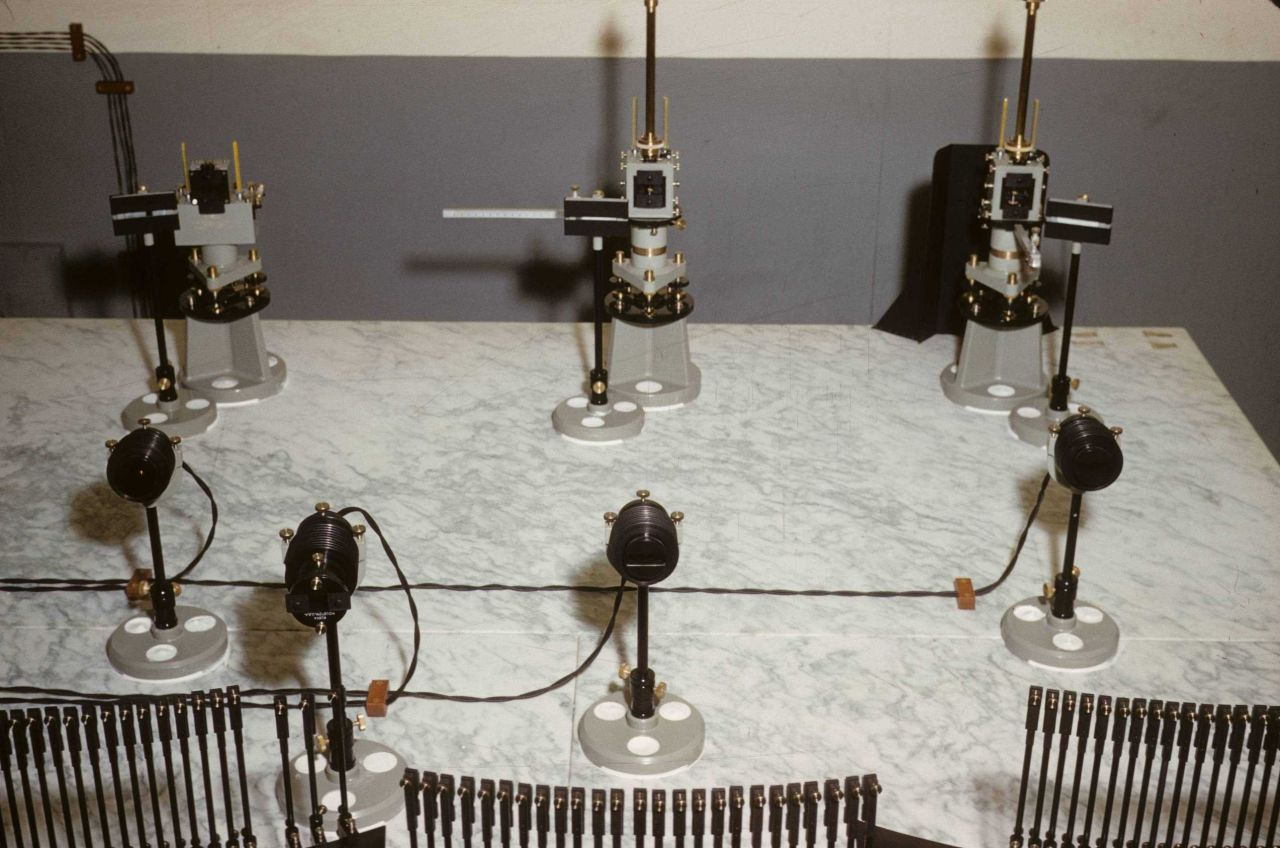 Magnetic instrumentation Photo