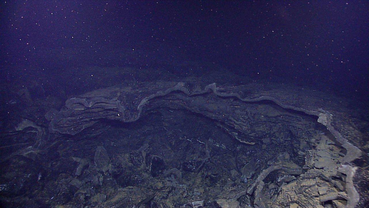 An open lava tube Photo