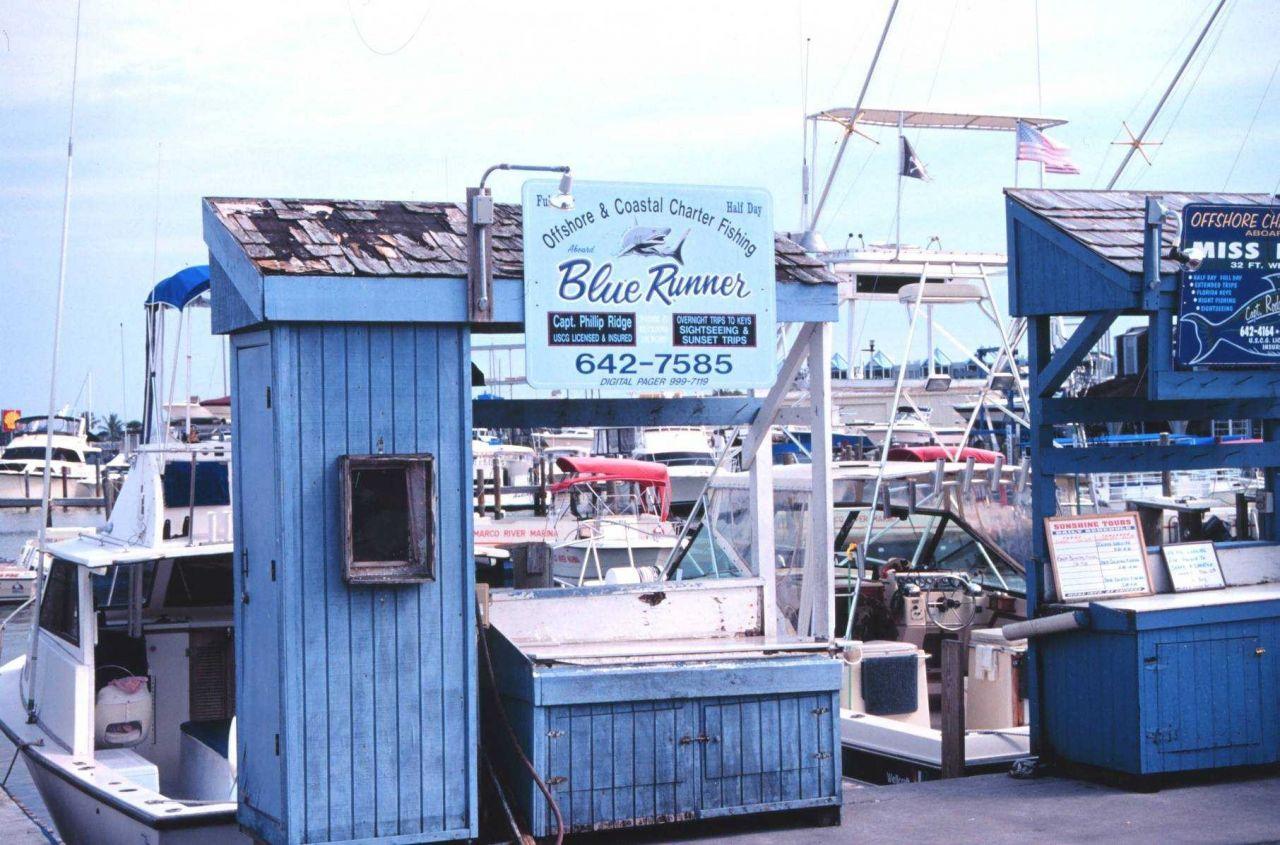 Recreational fishing boats at Marco Island Photo