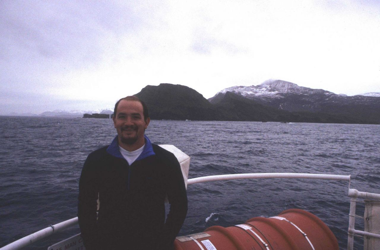 The current director of the AMLR program, Dr Photo