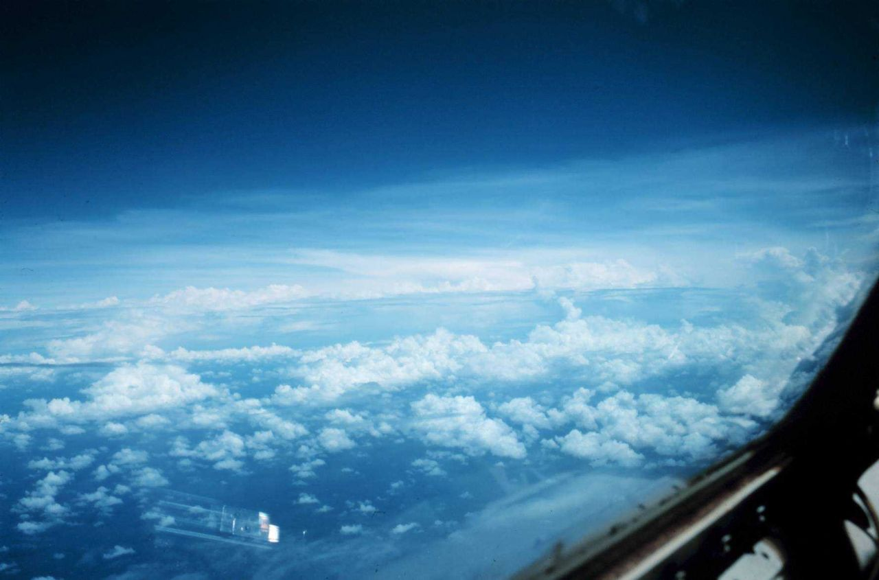 Flying to Hurricane Eloise Photo