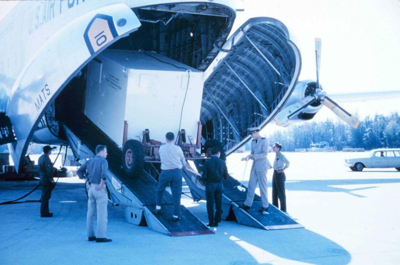 Bermuda was a satellite triangulation station site. Photo