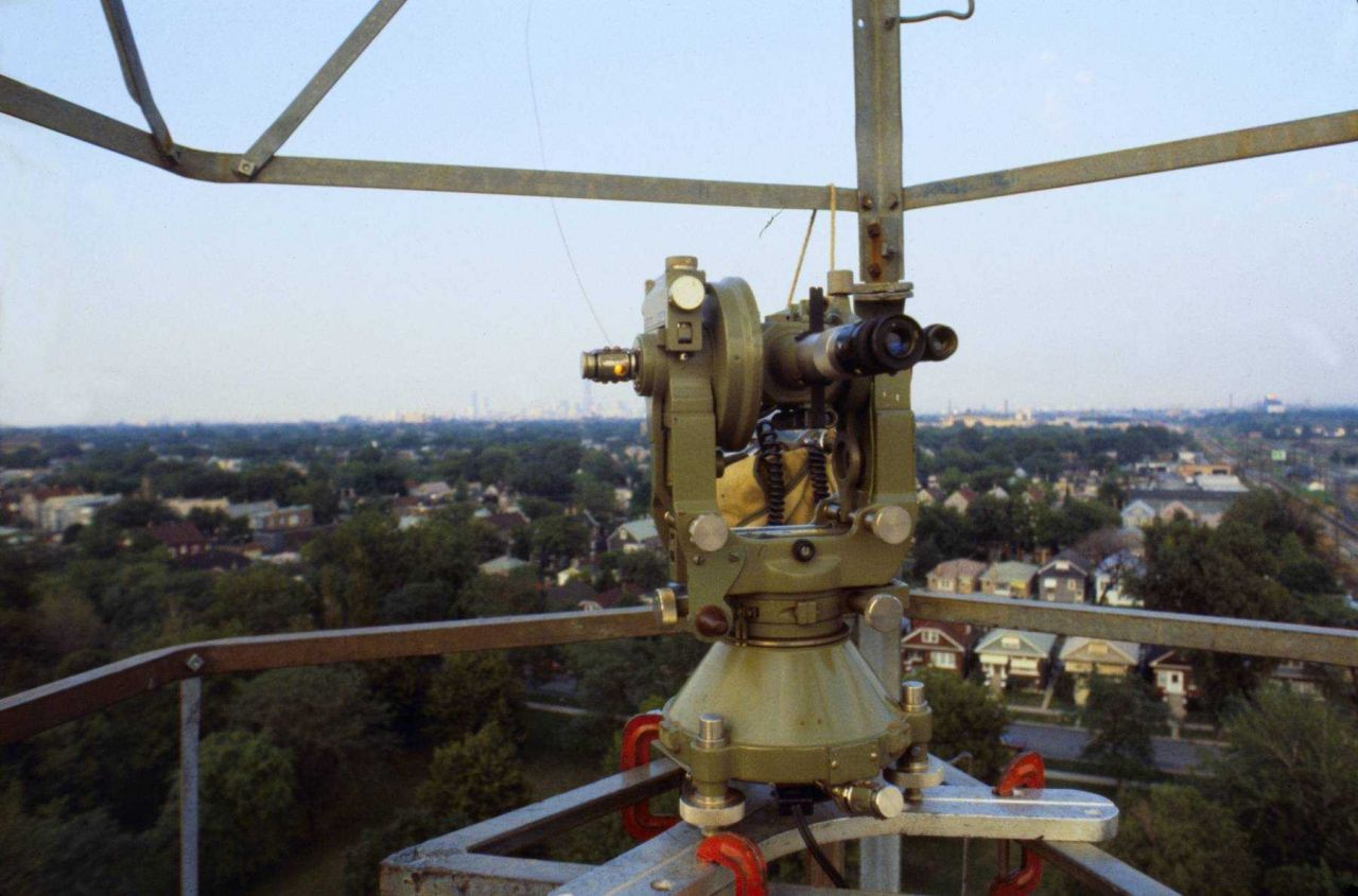 Wild T-3 theodolite ready for observing Photo