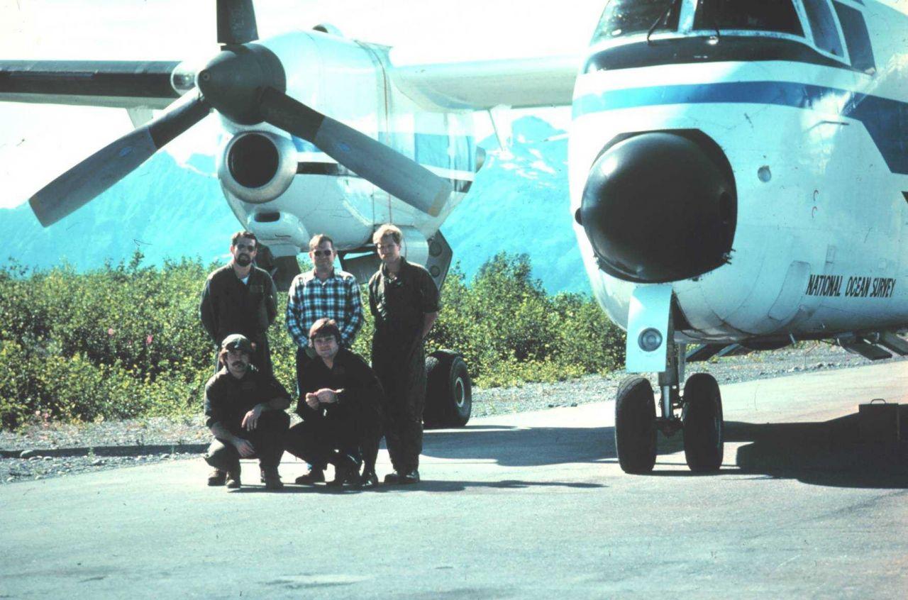 NOAA de Havilland Buffalo N13689 parked on tarmac Photo