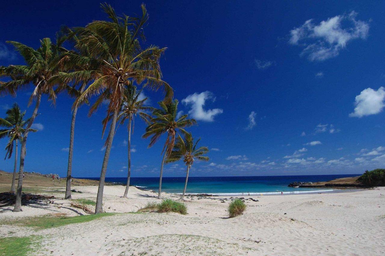 Anakena Beach Photo