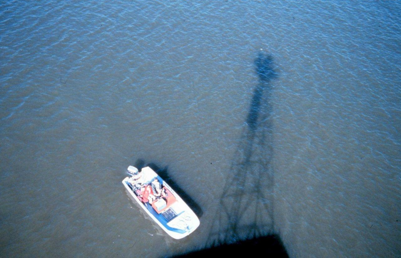 Taken from the top of a navigational aid near Sabine Pass, Texas Photo