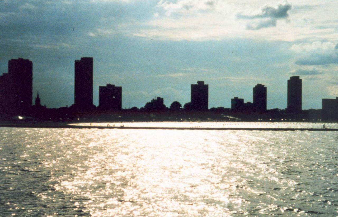 Lake Michigan waterfront Photo