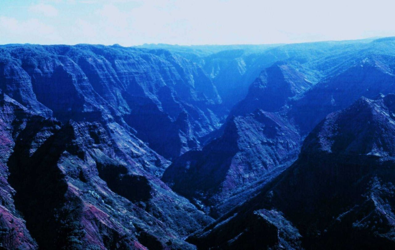 Waimea Canyon - the Grand Canyon of the Pacific Photo
