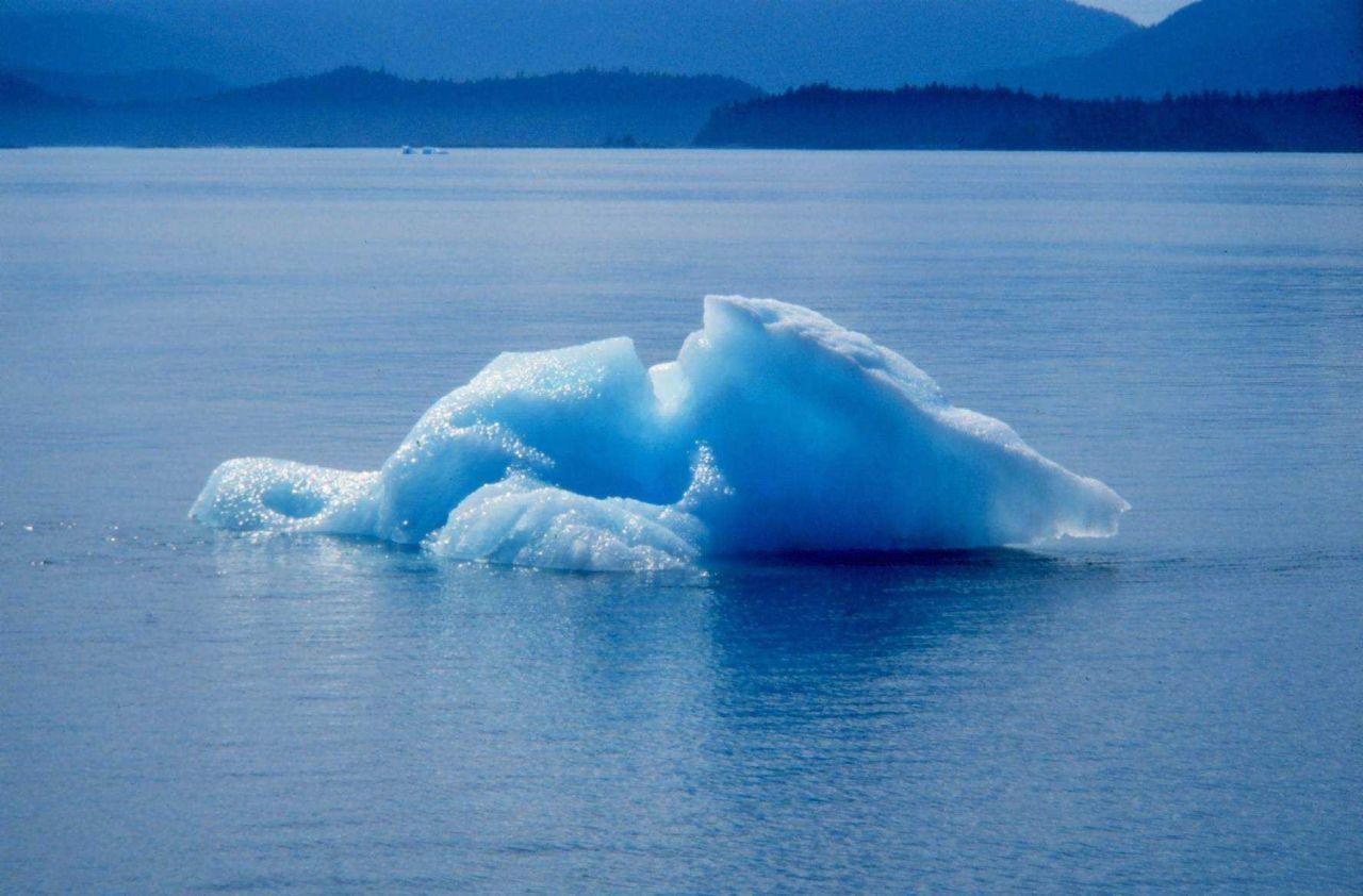 Small ice berg inTracy Arm area - Stephens Passage Photo