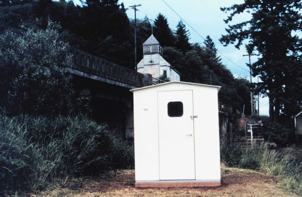 The tide house at Skamokawa - a ghost town on the Lower Columbia River Photo