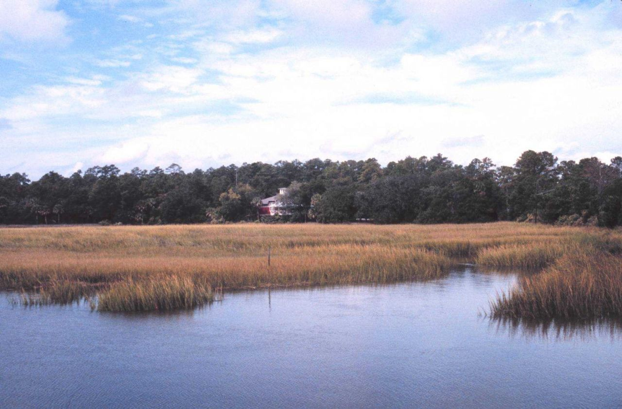 The Sapelo Island visitor center near Meridian Dock on the Georgia mainland Photo