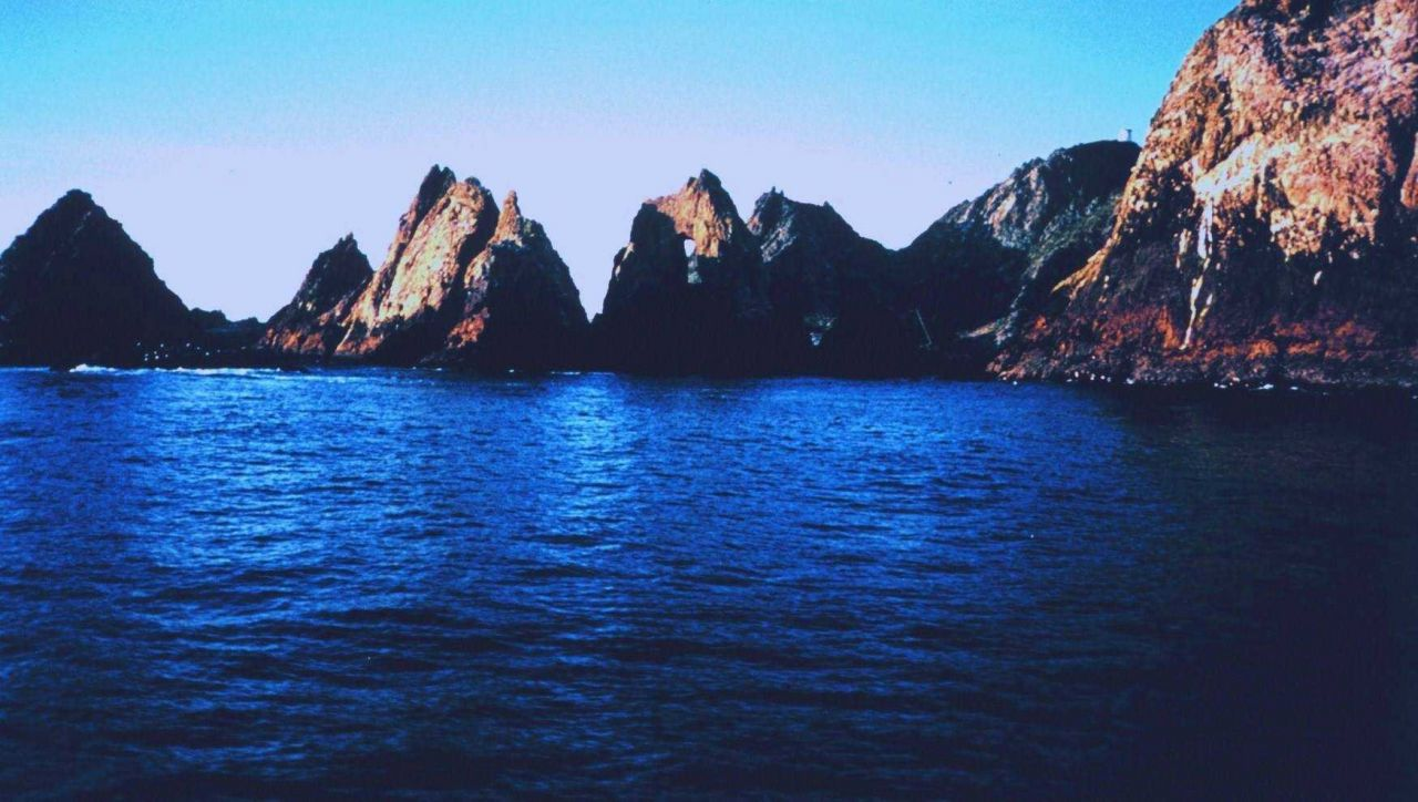 A clear day in the Gulf of the Farallones National Marine Sanctuary Photo
