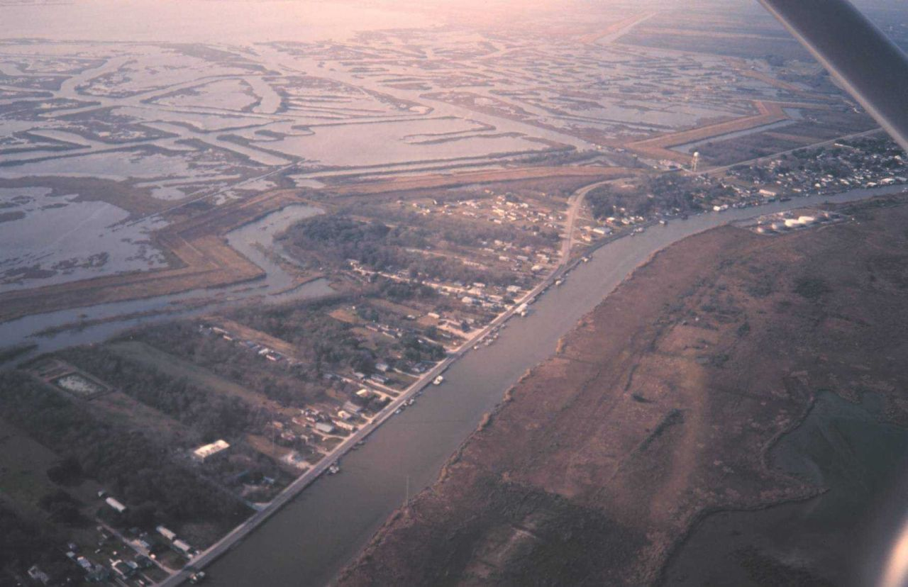 Bayou Lafourche was the main channel of the Mississippi River a few thousand years ago Photo