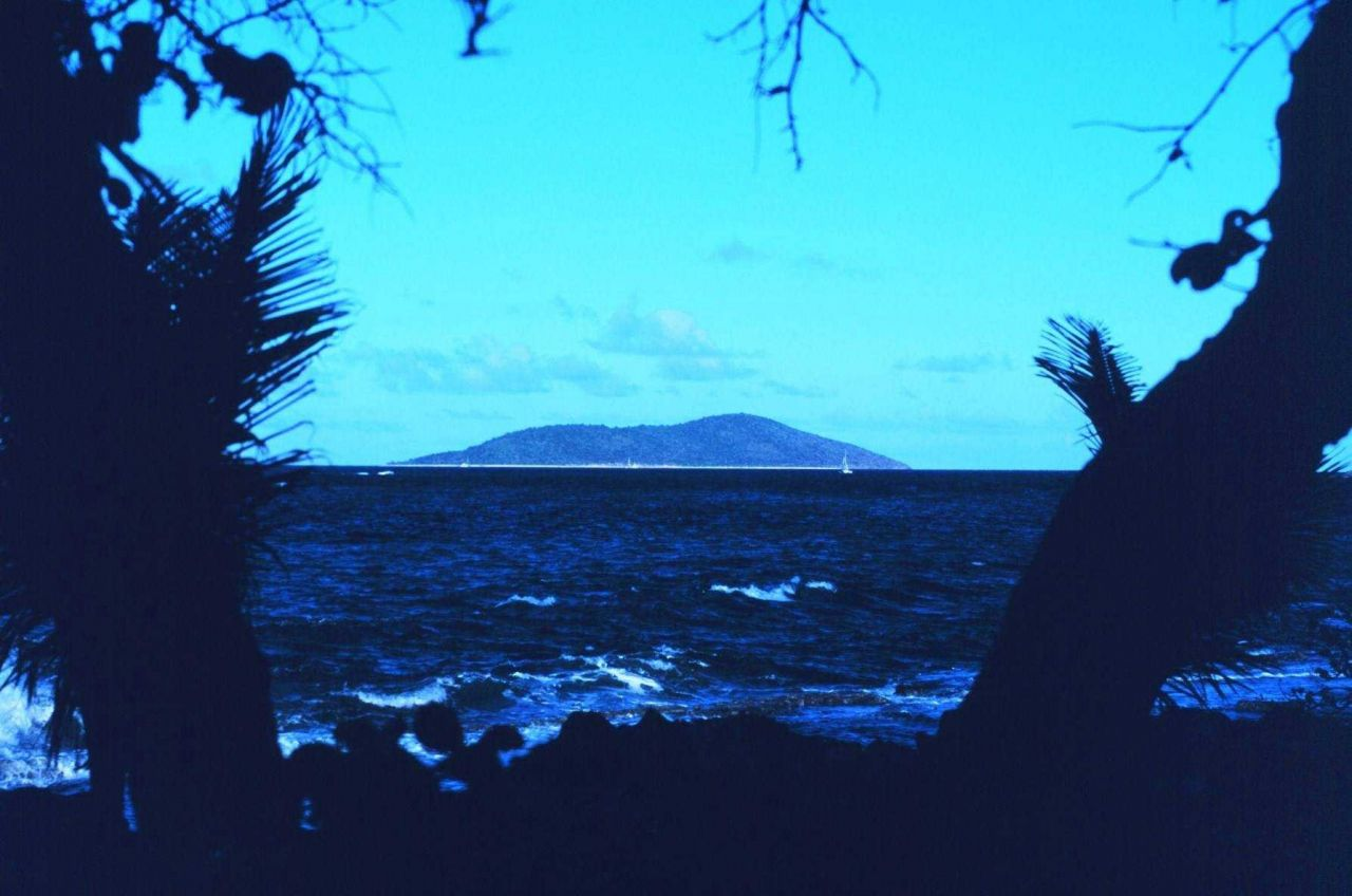 View of Buck Island Reef National Monument from Chenay Bay on Green Cay. Photo