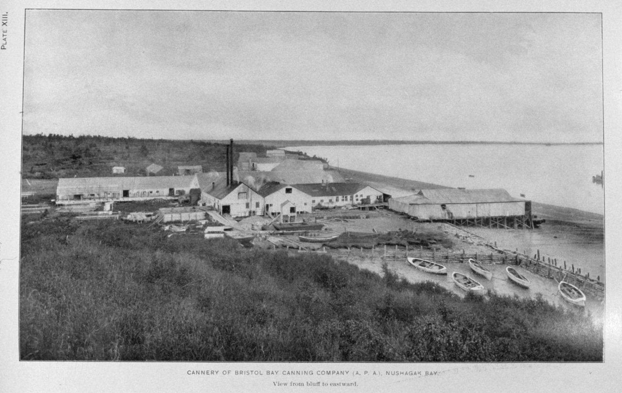 Cannery of Bristol Bay Packing Company (A.P.A.) Nushagak Bay Photo