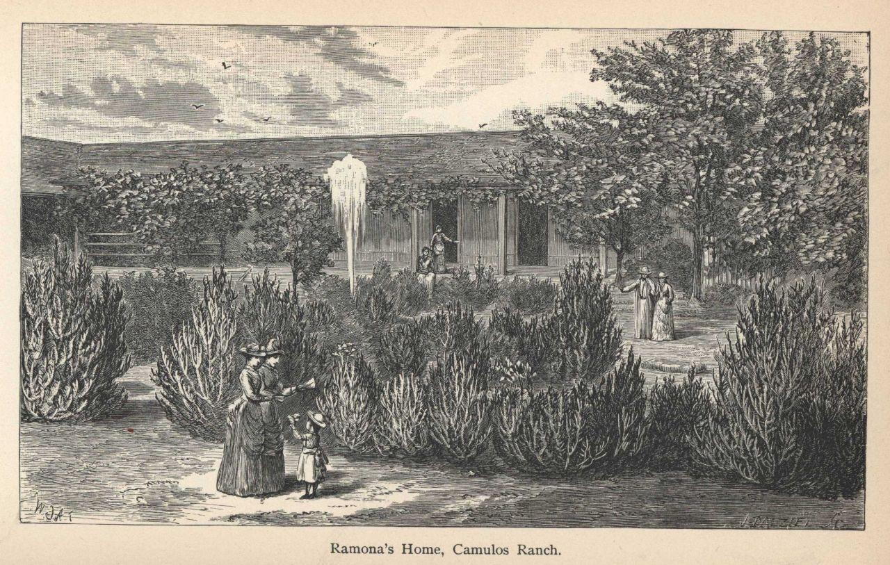 Ramona's home at Camulos Ranch Photo