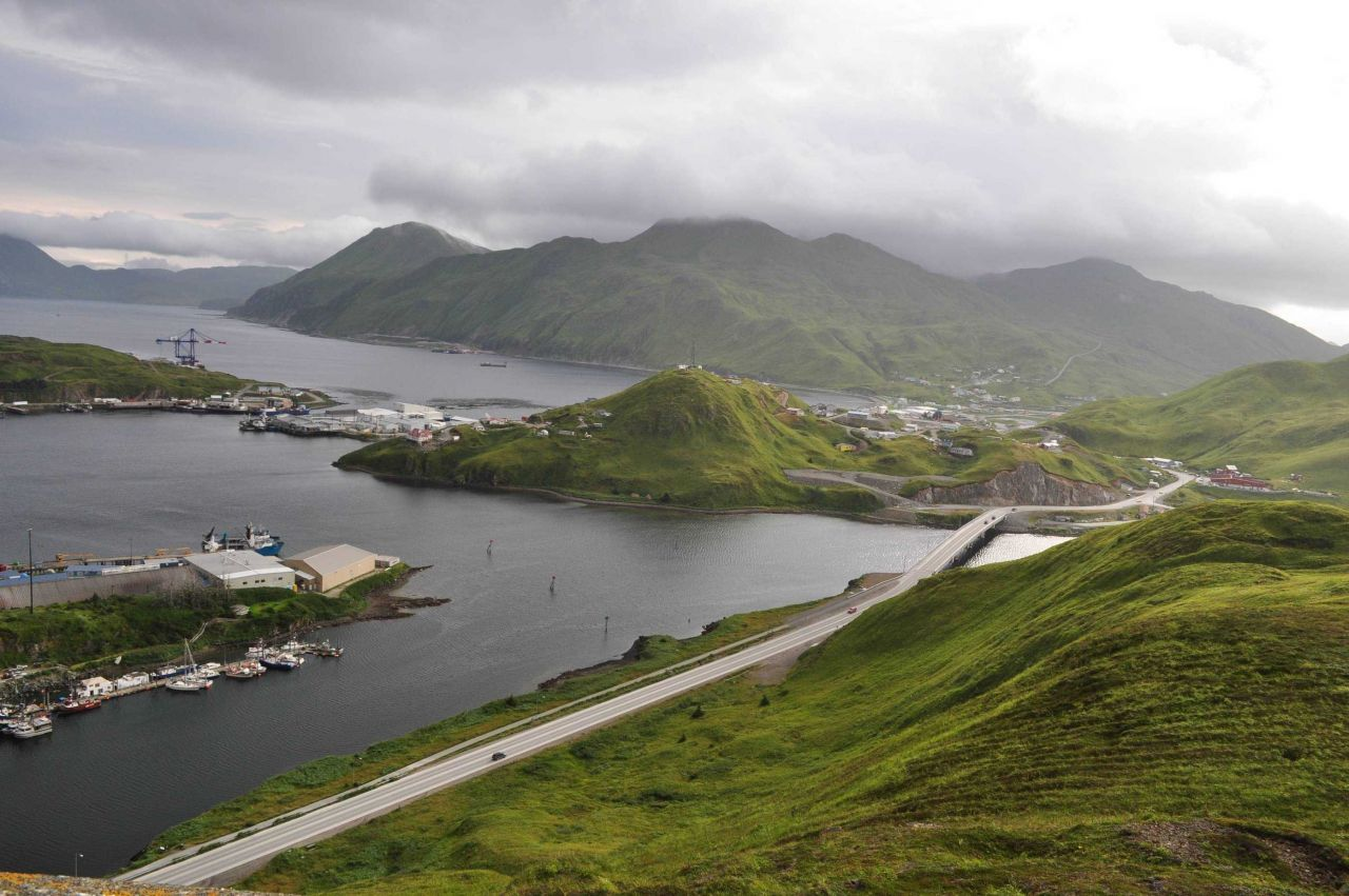 A view of Dutch Harbor Photo