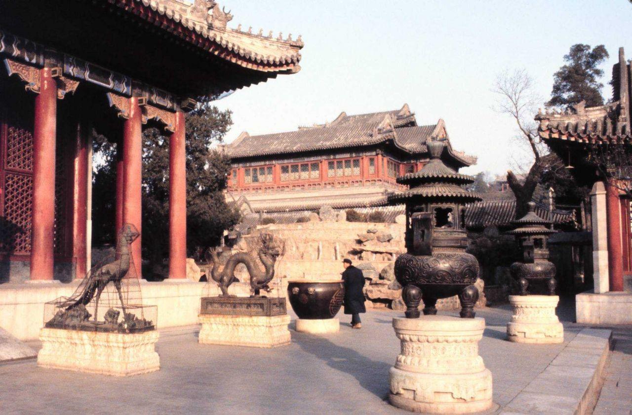 The Summer Palace at Beijing. Photo
