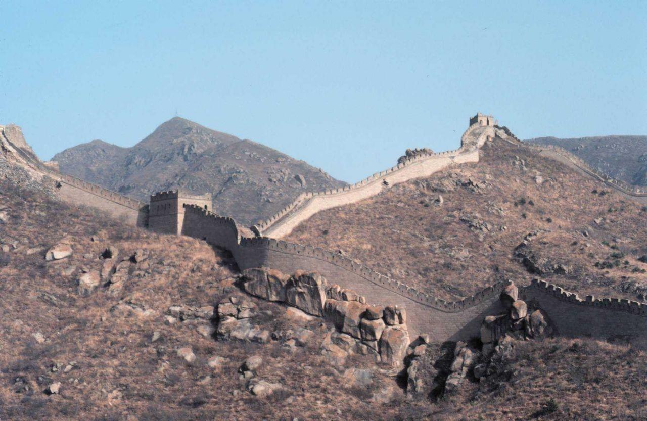 Views along the Great Wall. Photo