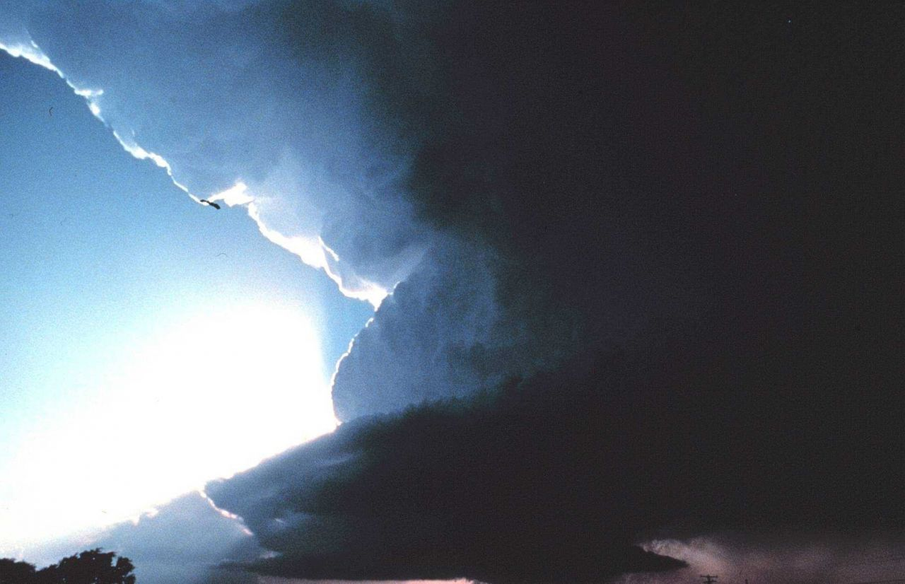 Supercell - often associated with violent weather. Photo