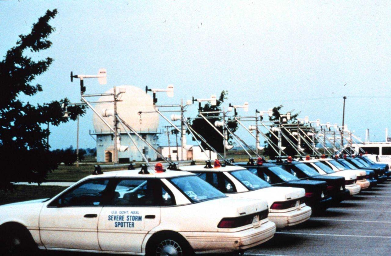 NSSL vehicles on Project Vortex Photo