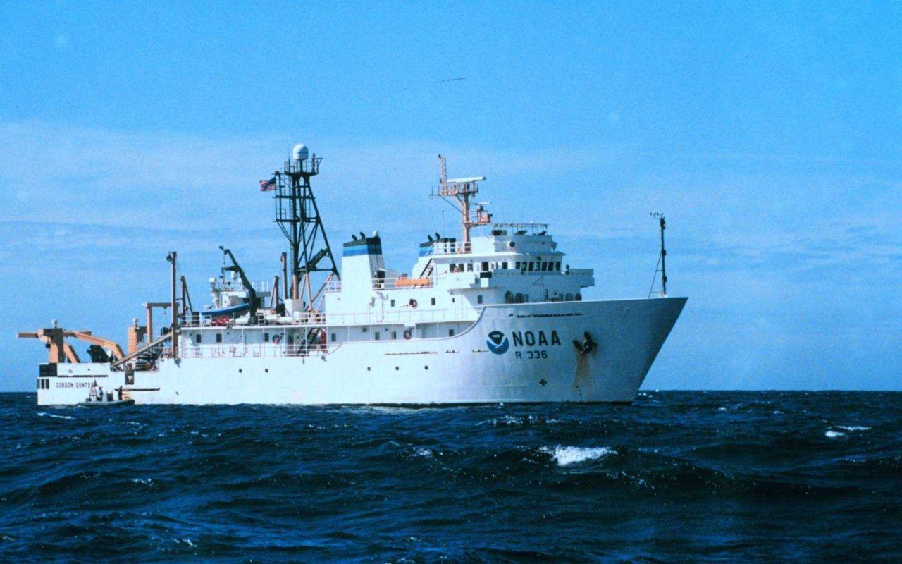 NOAA Ship GORDON GUNTER in the Gulf of Mexico Photo