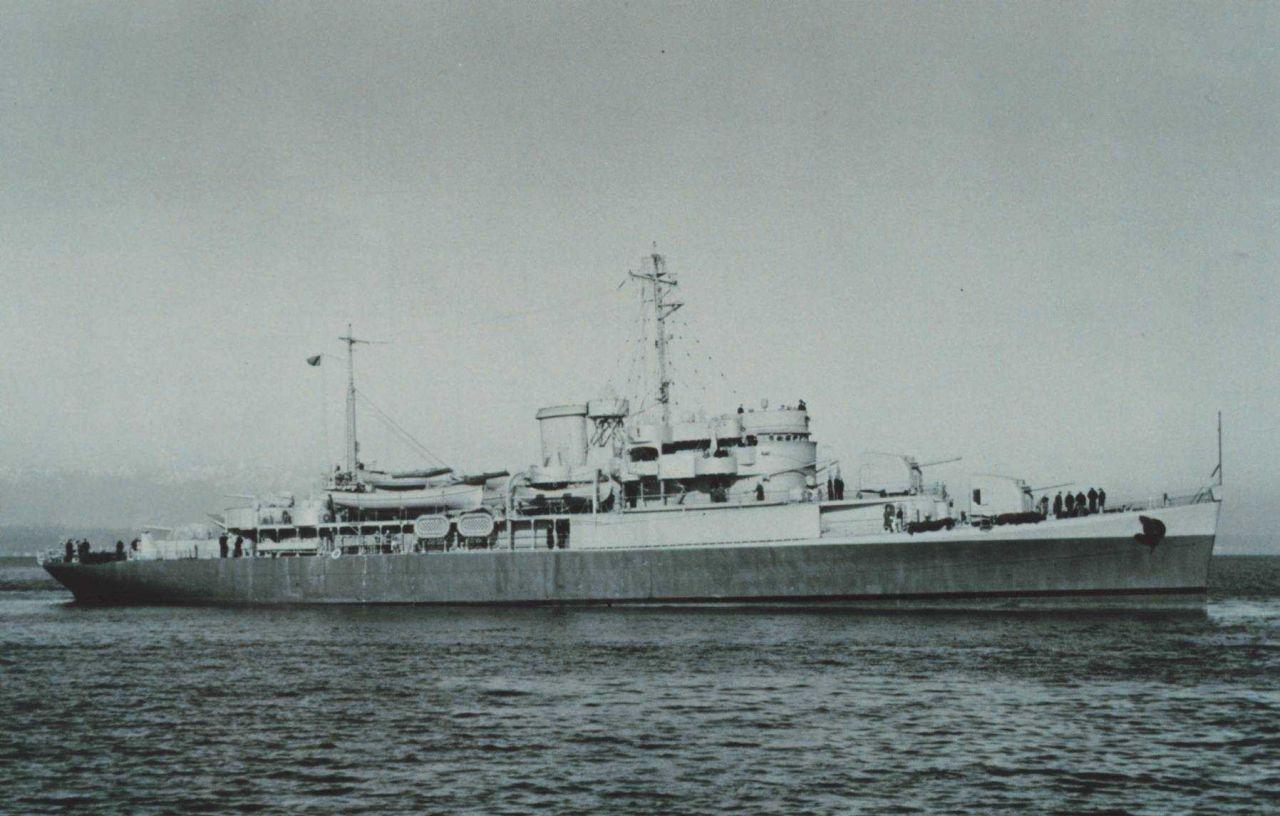 The Coast and Geodetic Survey Ship PIONEER III - still in Navy gray following World War II Photo