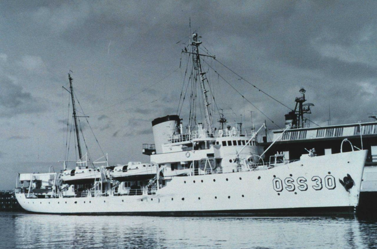 The Coast and Geodetic Survey Ship PATHFINDER at Seattle. Photo