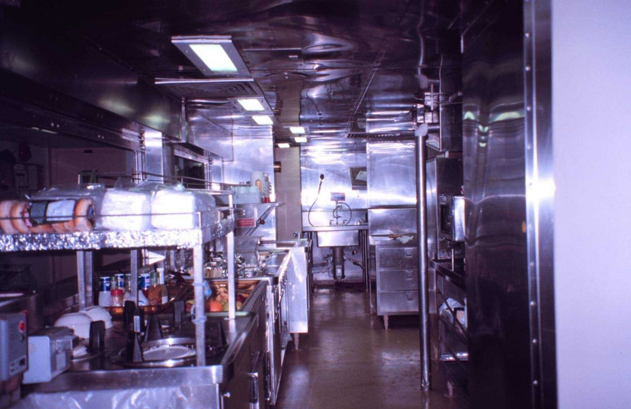 The gleaming galley of the NOAA Ship RONALD H Photo