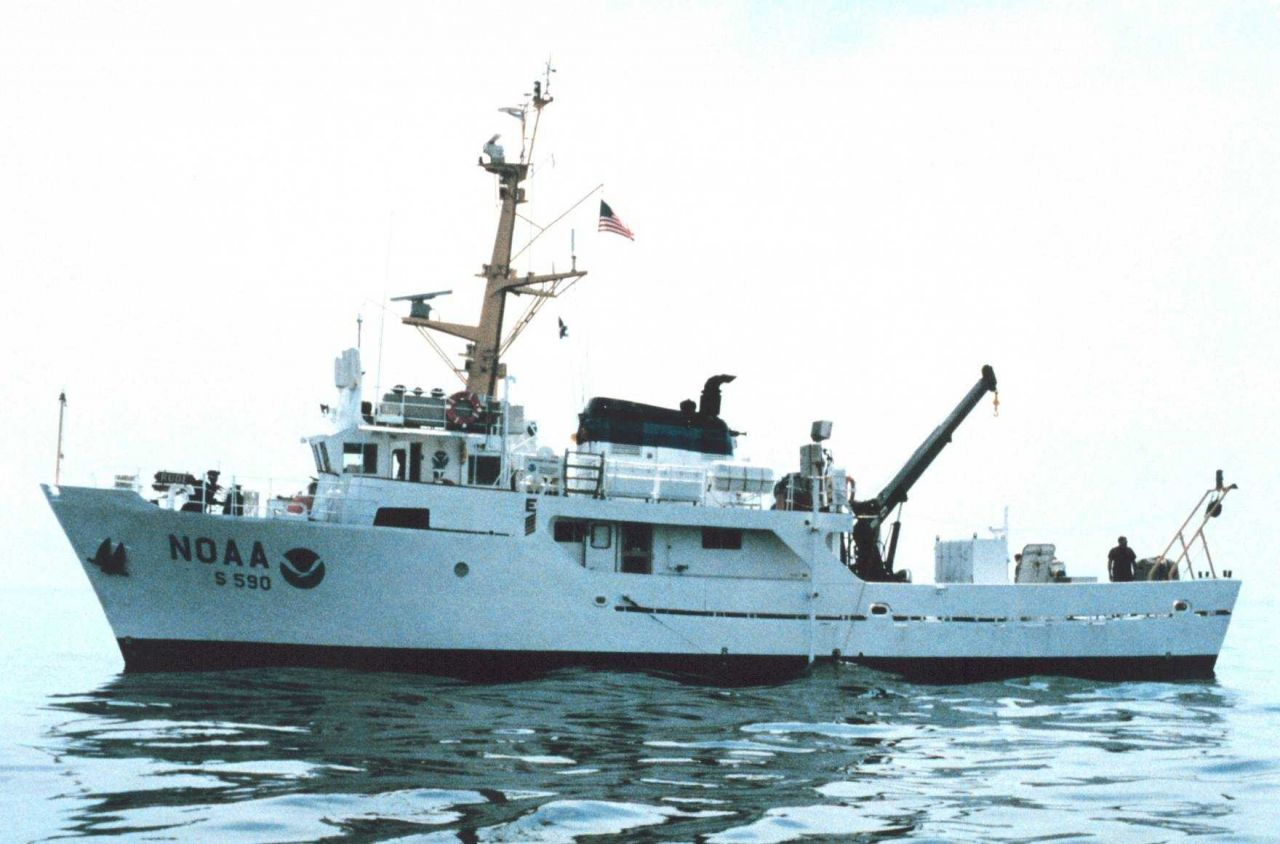 NOAA Ship RUDE. Photo