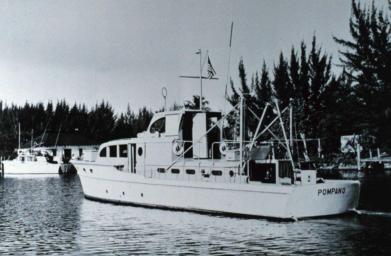Fish and Wildlife Service Laboratory Boat POMPANO. Photo