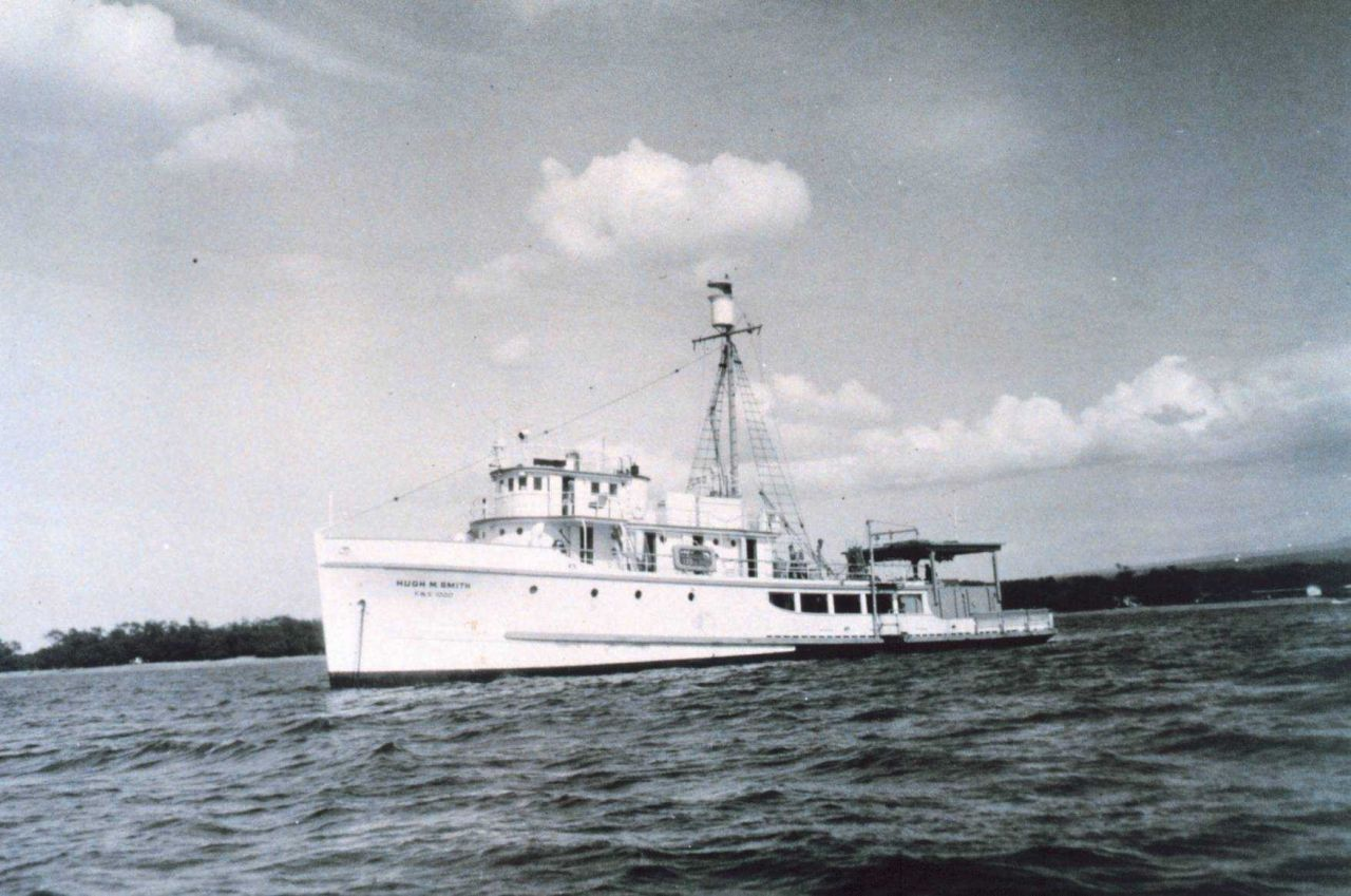 The Fish and Wildlife Service Research Vessel HUGH M Photo