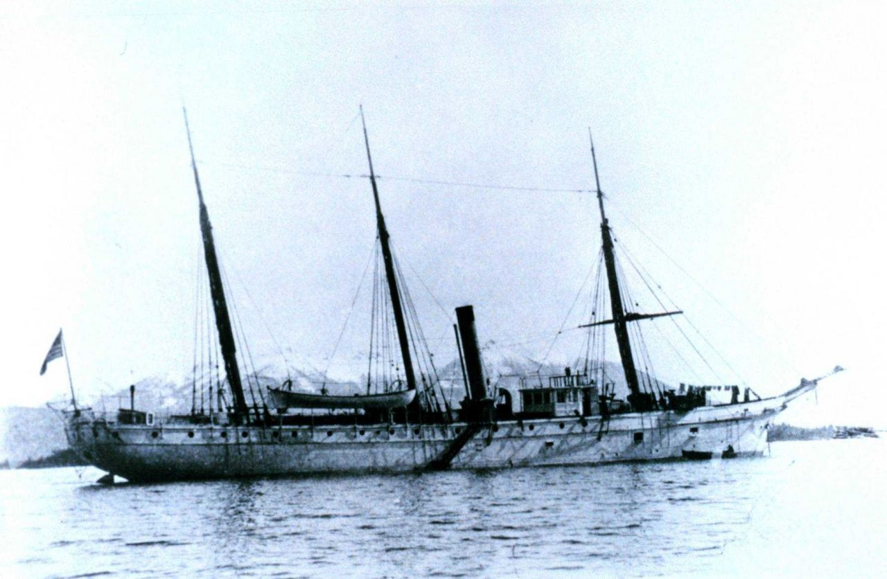 Coast and Geodetic Survey Steamer HASSLER Photo