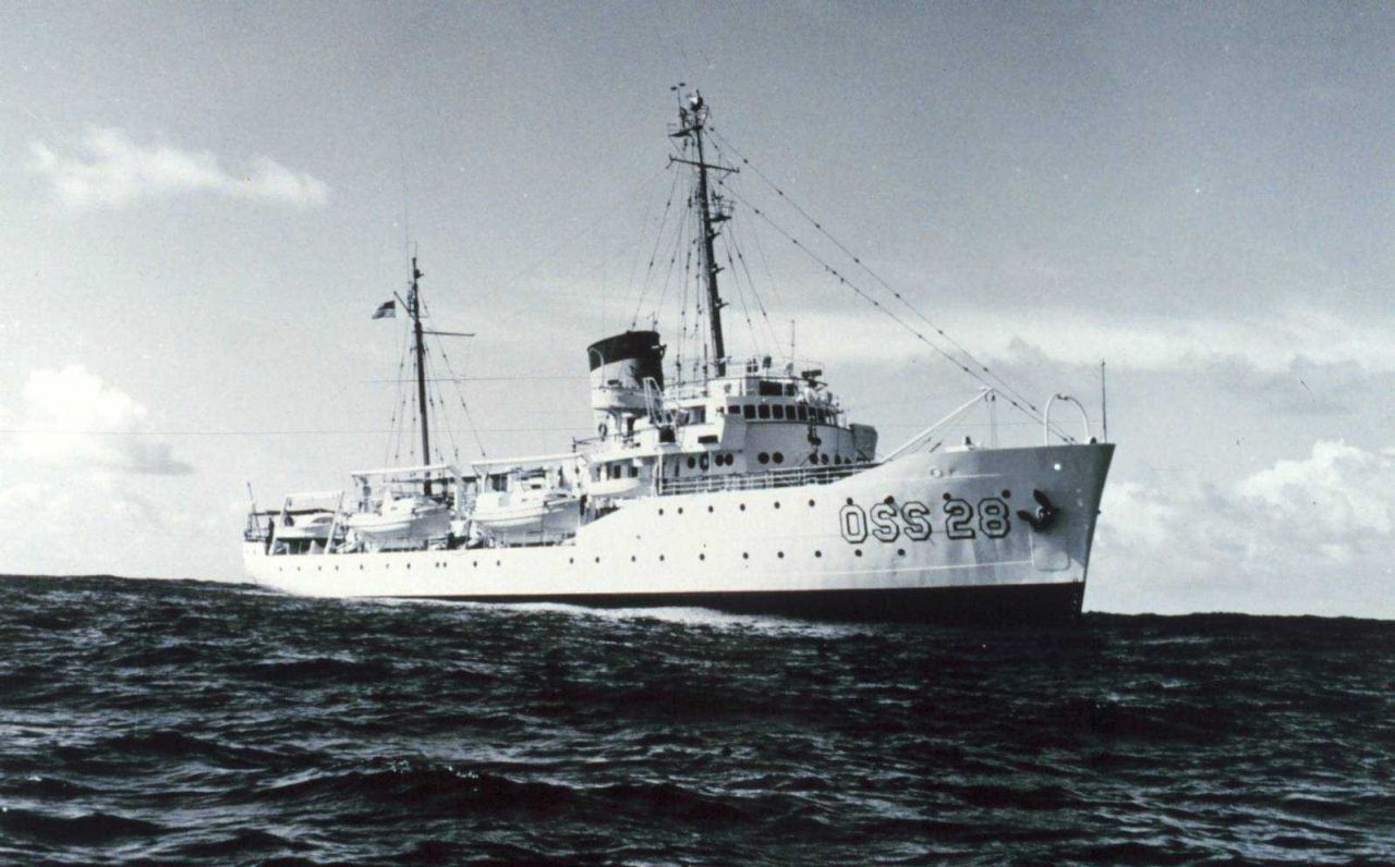 Coast and Geodetic Survey Ship EXPLORER OSS28. Photo