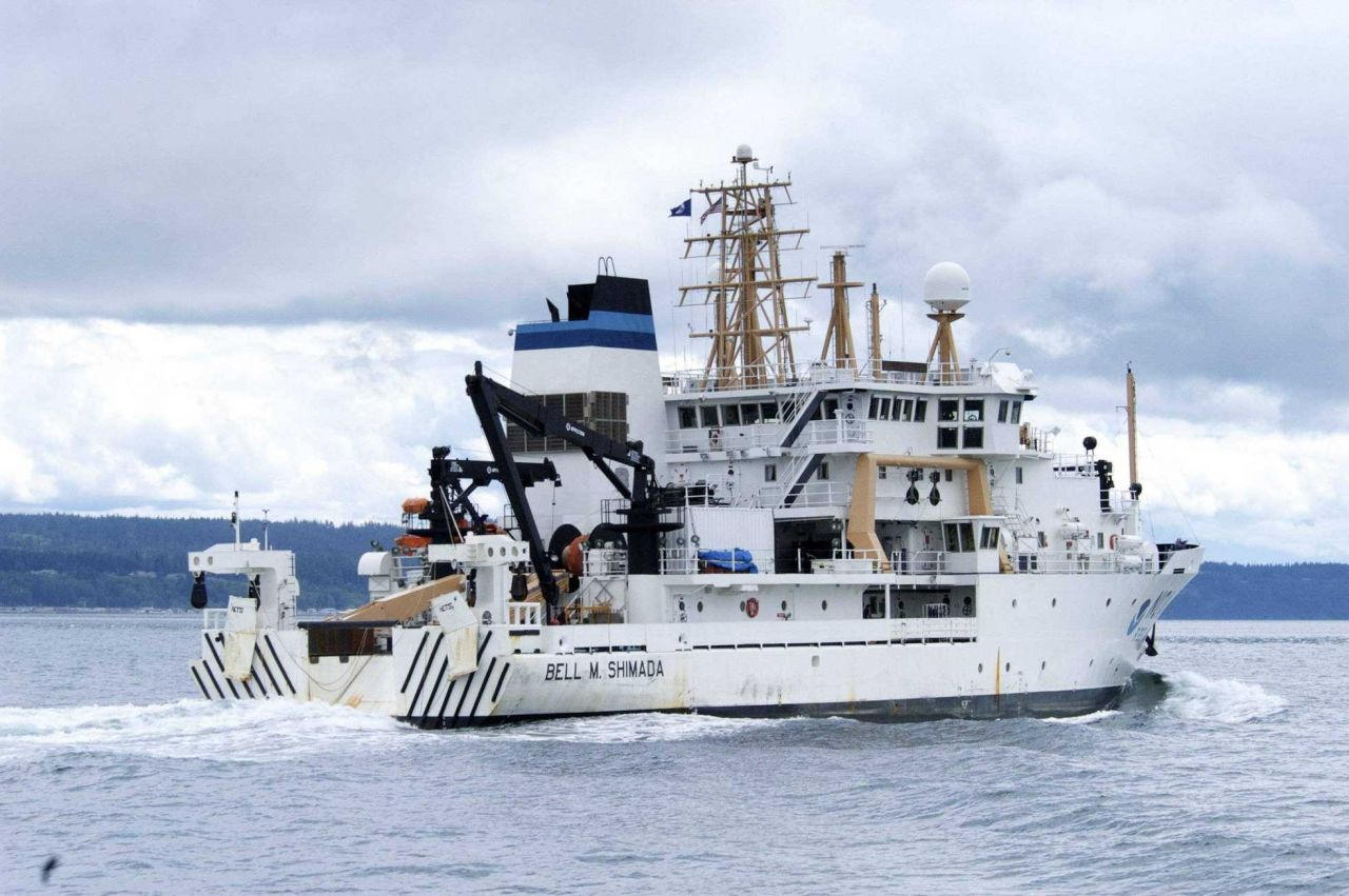 NOAA Ship BELL SHIMADA Photo