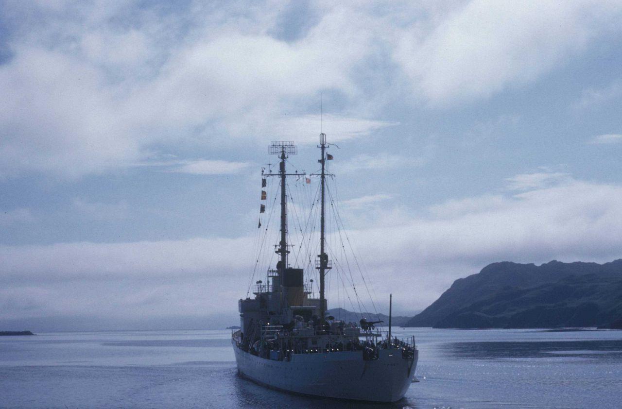 Stern of Coast Guard Cutter STORIS Photo