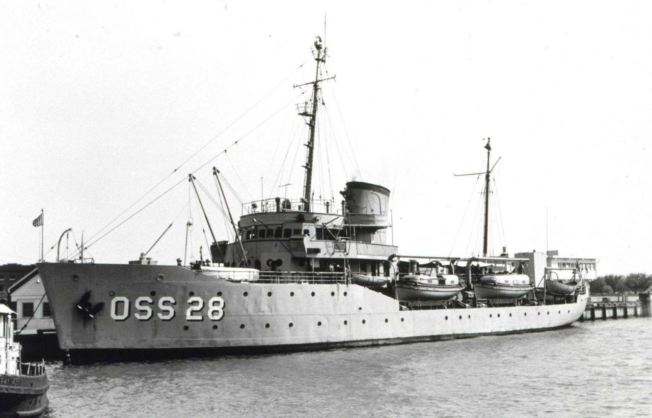 Coast and Geodetic Survey Ship EXPLORER Photo