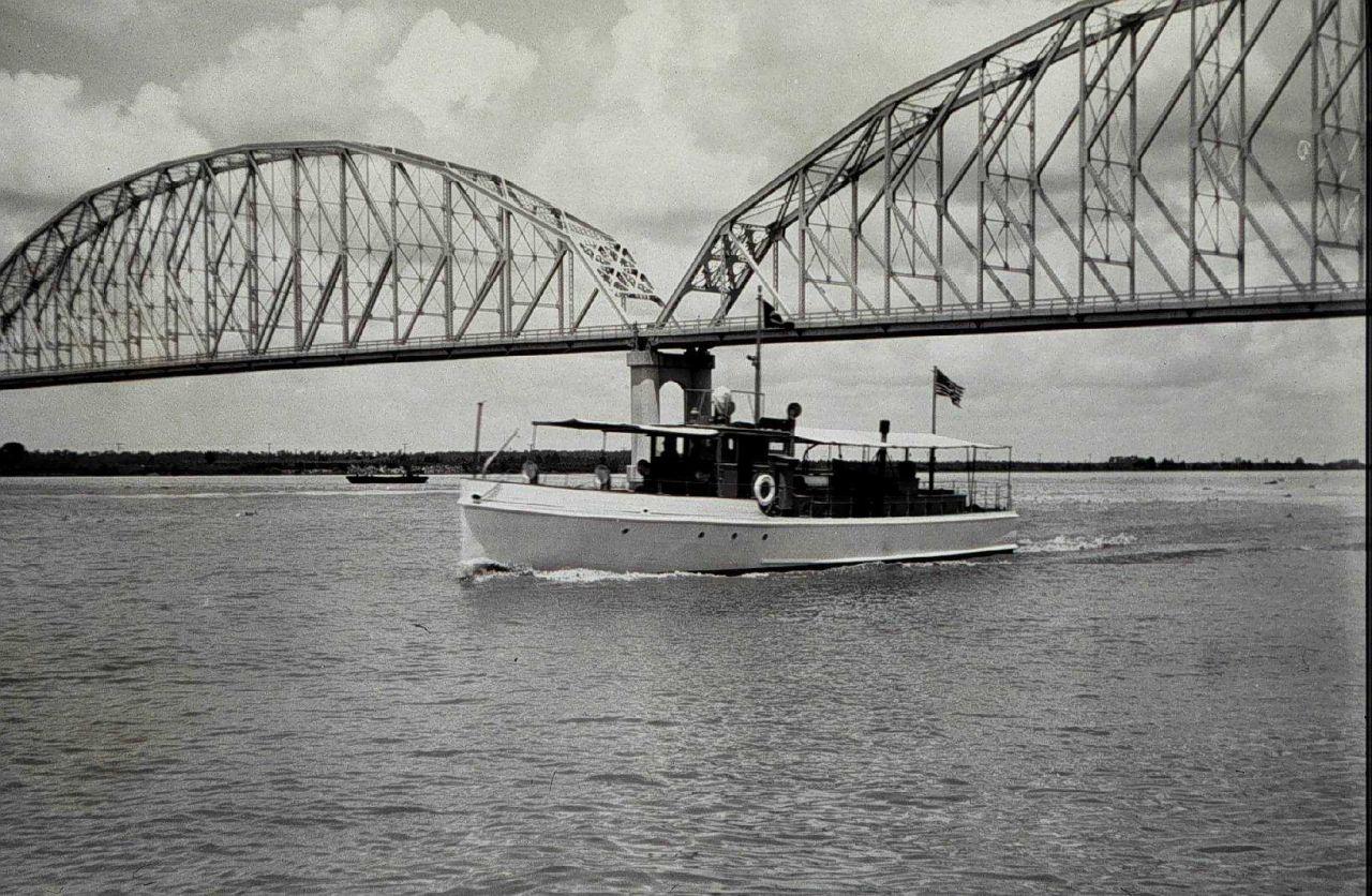 The Launch PRATT - an RAR hydrophone boat Photo