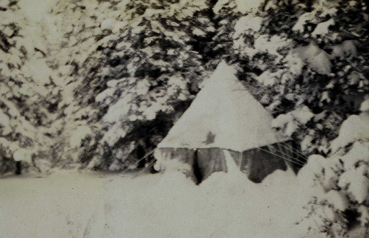 The lightkeepers' camp at Salesville camp Photo