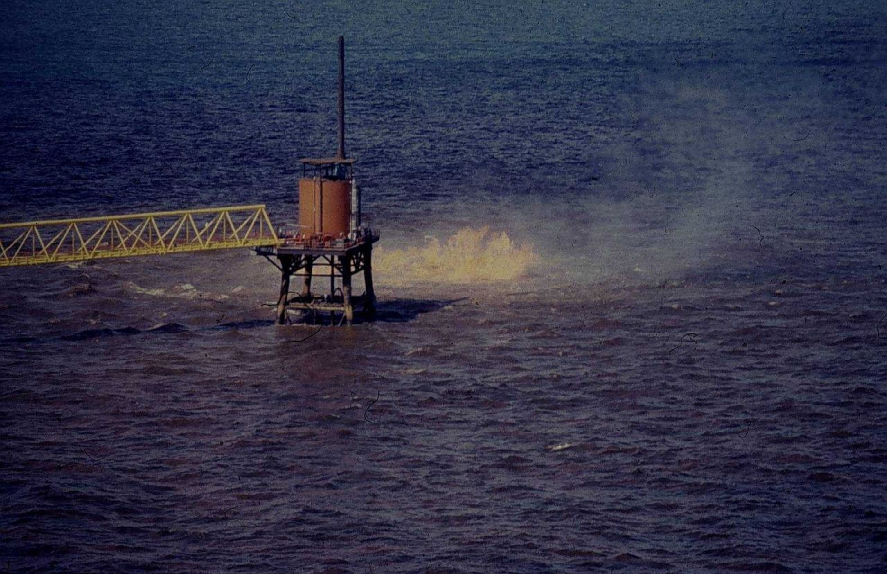 IXTOC 1 oil well blowout in Bay of Campeche Photo