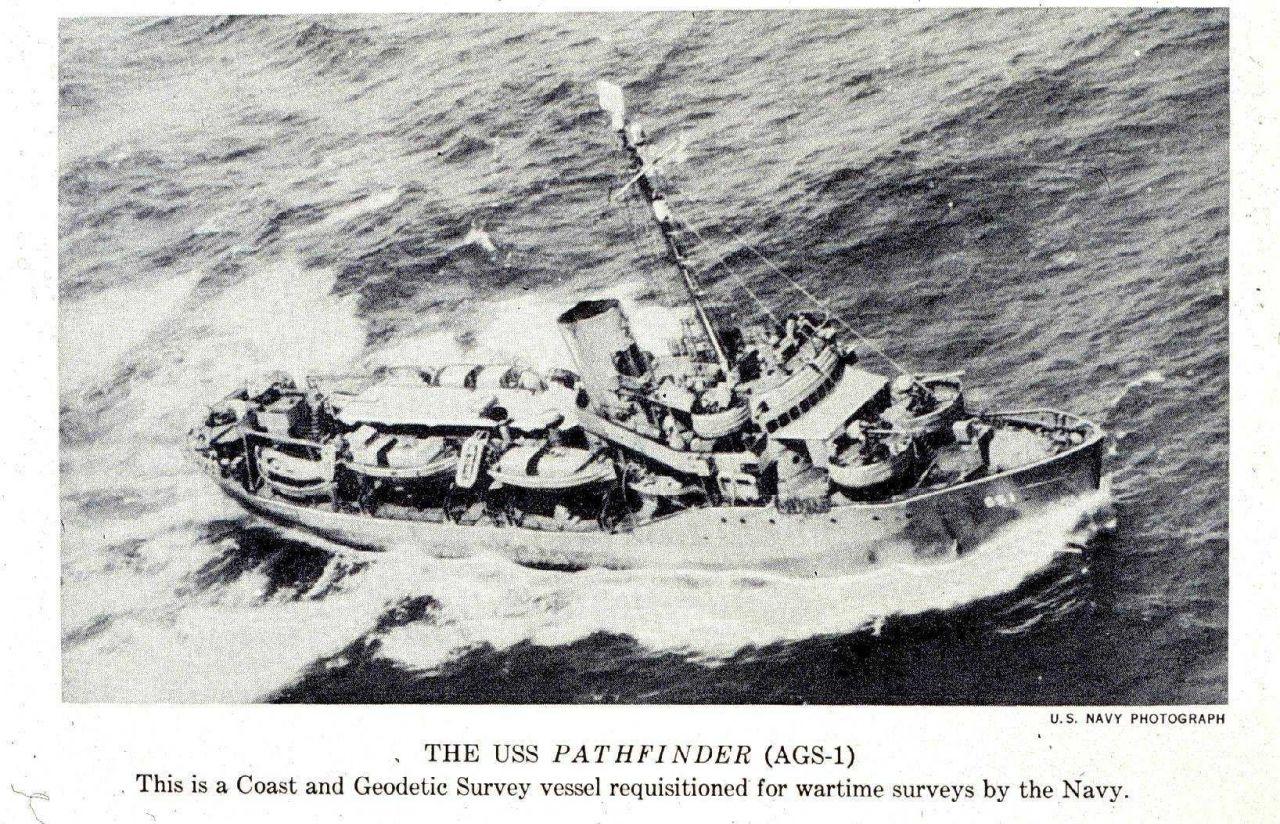 USS PATHFINDER underway in Pacific Photo