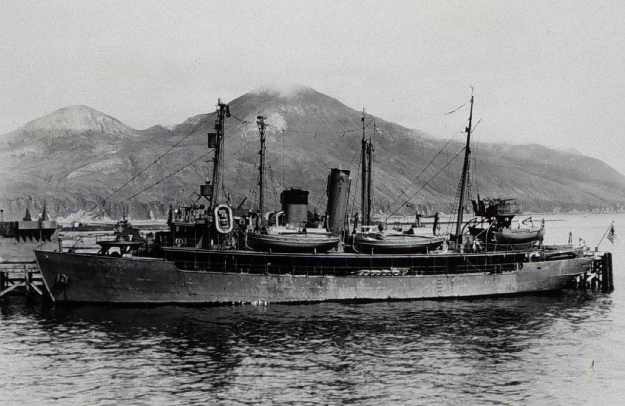 SURVEYOR at dock in Aleutians Photo