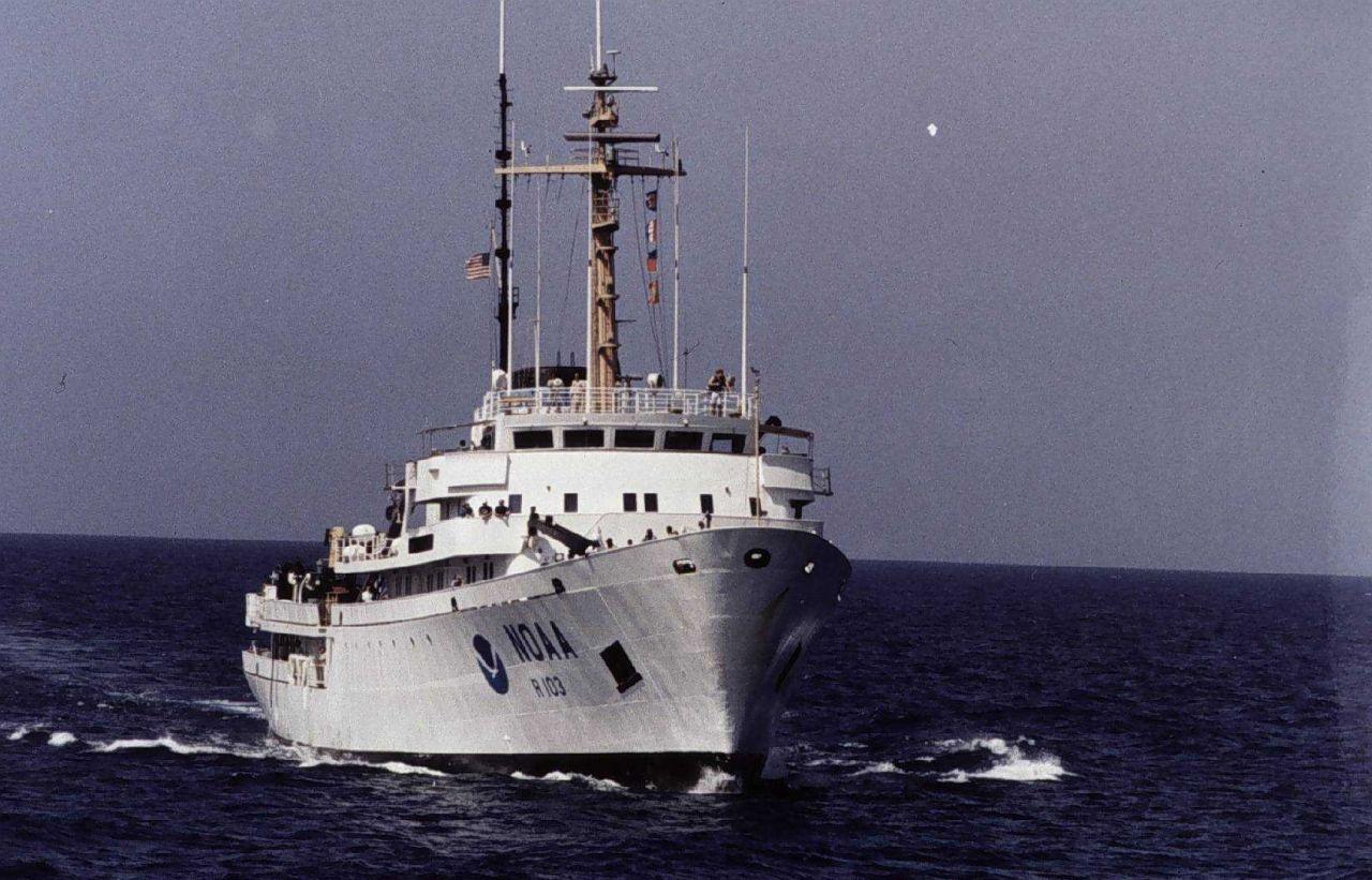 NOAA Ship MALCOLM BALDRIGE. Photo