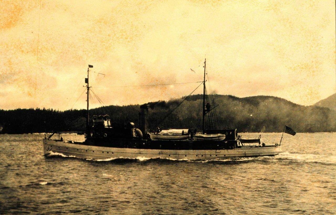 Coast and Geodetic Survey Ship DISCOVERER Photo