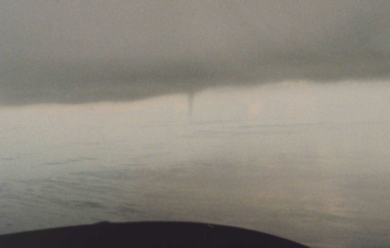 Waterspout off Key West filmed during a National Geographic Television Special Photo