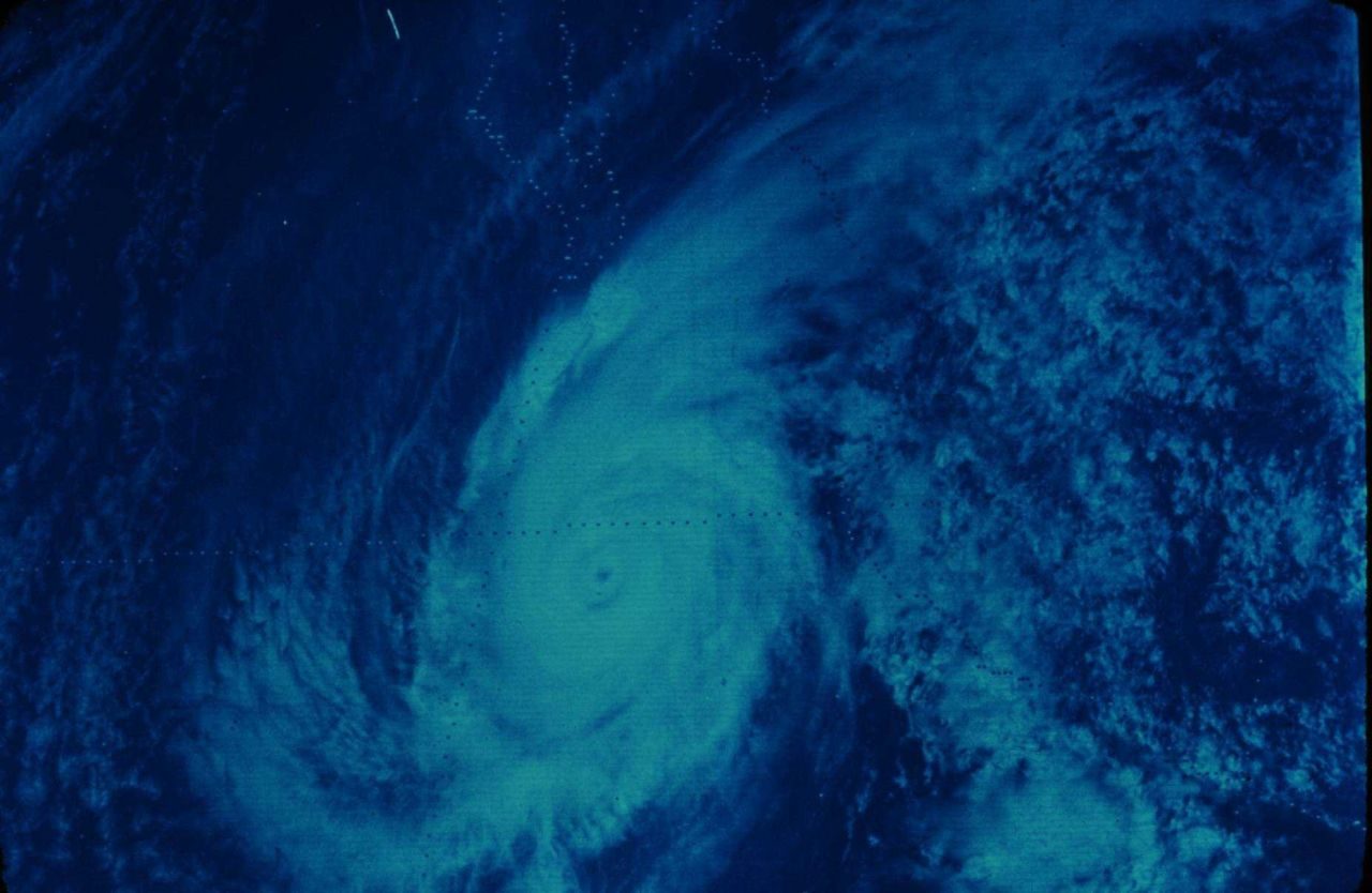 Hurricane Liza off of Baja California Photo
