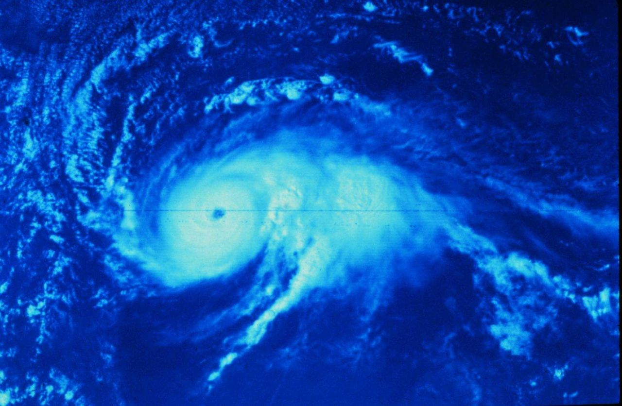 Hurricane Anita approaching the coast of Mexico south of Brownsville Photo